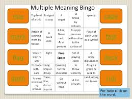 Meaning Words Worksheets Meaning Words Slide