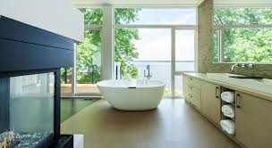 custom bathroom ottawa river house christopher simmonds architect