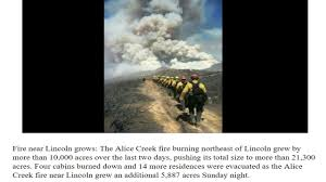 Wildfire Today Montana by Montana Wildfire Roundup Fires Take Off Over Holiday Weekend Youtube