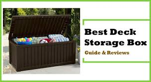best deck storage box guide and reviews