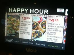 happy hour appetizer specials picture of chili s grill bar