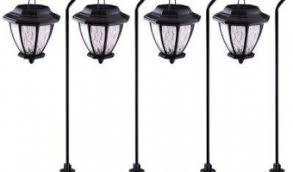 solar landscape lighting outdoor lighting the home depot