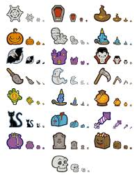 spooky symbols 22 creepy halloween icons freebie u2013 smashing magazine