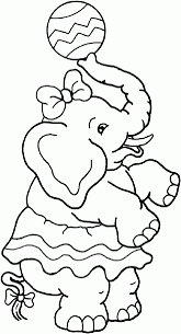 Circus Coloring Pages Clown With Balloons Circus Coloring Page