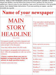 newspaper article template free editable old newspaper powerpoint