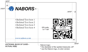 Business Card With Qr Code Optional Business Card Back Side With Qr Code