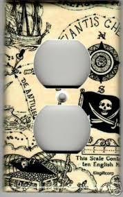 Pirate Bathroom Decor by Pirate Ship Set Bathroom Decor Crossbones Kids Skulls Shower