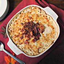Bacon Main Dishes - baked cream cheese corn with crumbled bacon u0026 a 6 piece bake set