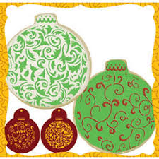 culinary stencils filigree ornament cookie or cupcake