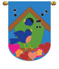 Breeze Art Garden Flags - swaying in the breeze birds flags to decorate your home and garden