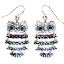 owl earrings owl earrings aéropostale polyvore