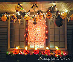 Halloween Window Lights Musings From Kim K Weekend Halloween Transformations