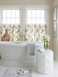 Bathroom Window Curtains Ideas I A Window Just Like This In My Master Bath These Curtains