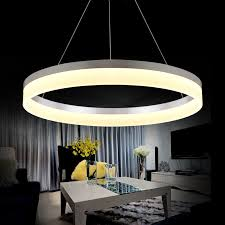 Chandelier Led Lights Modern Led Ring Chandelier Light Arcylic Led Chandelier Suspension