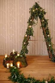 wedding arch ladder this wedding backdrop our ladder arbour looks amazing with
