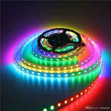 5m ws2812b individually addressable led strip light 16 4ft 300 smd