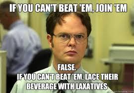 Em Meme - if you can t beat em join em false if you can t beat em lace