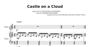 Castle On A Cloud Les Miserables Castle On A Cloud Pdf Docdroid