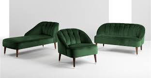 Green Chairs For Living Room Accent Chair In Forest Green Velvet Margot Made Regarding