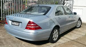 2001 Benz File 2001 Mercedes Benz S 430 W 220 Sedan 2010 05 19 Jpg