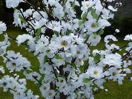 5 u0027 artificial tree white artificial blossom tree 1 7m