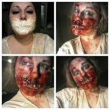 prosthetic halloween makeup zombie mouth prosthetic megan makeup artist
