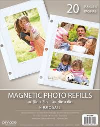 5x7 photo album refill pages magnetic photo album refill pages walmart canada