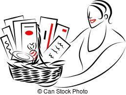 basket stock illustration images 96 314 basket illustrations
