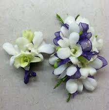white orchid corsage white orchid prom wrist corsage bout combo in peabody ma