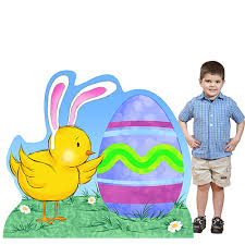 easter photo props easter prop standees personalized easter standee props