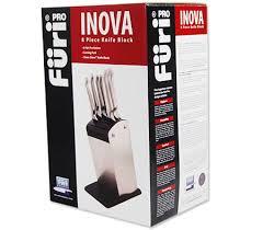 furi pro inova clean store 8 piece knife block online shopping