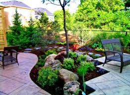 landscape arrangement rocks backyard landscaping for with the