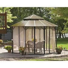 Discount Gazebos by Castlecreek Hard Top Gazebo 9 6 U0027 X 13 U0027 676345 Gazebos At