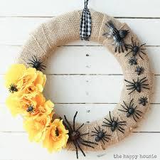 Halloween Spider Wreath by Non Candy Halloween Treats Eighteen25