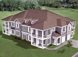 plan 18511wb 8 unit house plan with corner decks corner deck