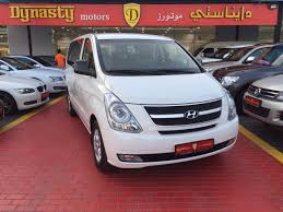 used hyundai h1 12 seater passenger van 2016 car for sale in dubai