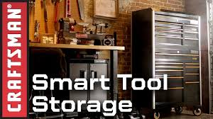 craftsman pro series tool storage with smart lock tool