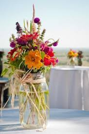 jar floral centerpieces best 25 jar flowers ideas on flowers