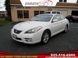 toyota credit bank used 2007 toyota camry solara se in brentwood