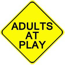 second marketplace warning adults at play white t shirt