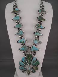turquoise necklace earring set images Royston turquoise squash blossom necklace turquoise jewelry jpg