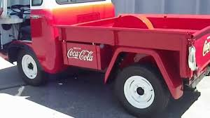 jeep fc 170 1957 willys jeep forward control fc 150 4x4 coca cola delivery
