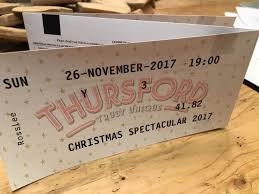 christmas spectacular tickets 3 tickets for thursford christmas spectacular sun 26th nov 2017 at