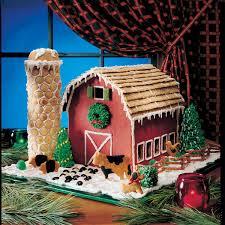 gingerbread barn recipe taste of home