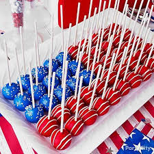 15 must try 4th of july recipes and decorations cake pop flags