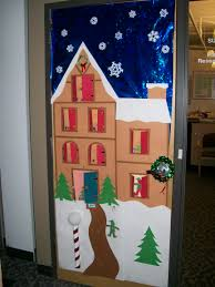 Cute Office Decorating Ideas by Backyards Ideas About Christmas Classroom Door
