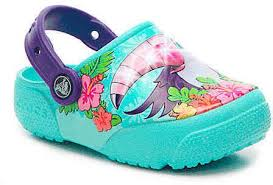crocs light up boots crocs girls funlab tucan youth light up clog light blue