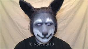 halloween dog mask foam latex small wolf dog muzzle prosthetic mask youtube
