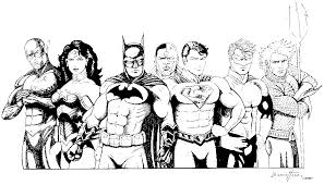 justice league printable coloring pages coloring