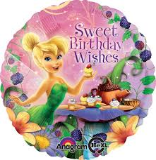 tinkerbell party supplies inch hx disney tinker bell birthday wishes balloon